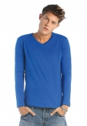 Men V-Neck Classic LS