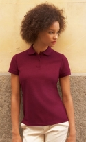 Ladies Polo Blended Fabric